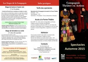 programme TEA page 1